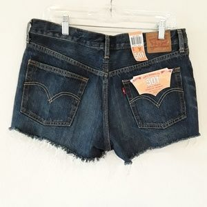 Levi's | 501 High RiseCutoff  Buttonfly Shorts